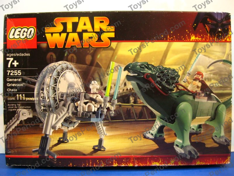 Star Wars Sets  LEGO 7255 General Grievous Chase Star Wars