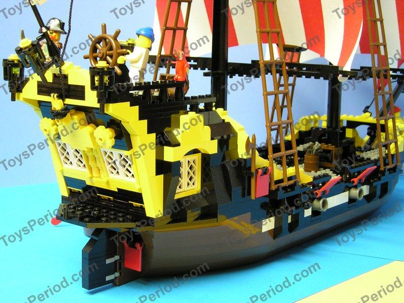 LEGO 6285 Black Seas Barracuda Pirate Ship Classic Set 1989 Image ...
