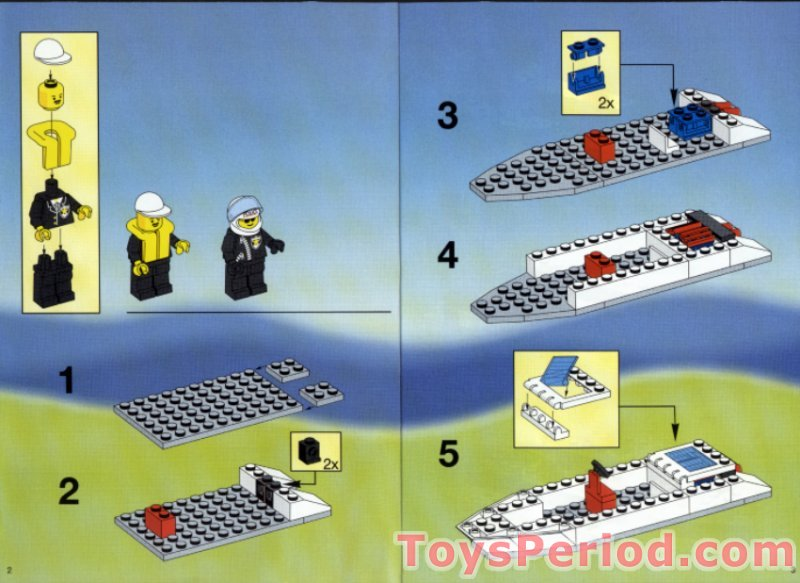 LEGO 6344 Jet Speed Justice Set Parts Inventory and ...