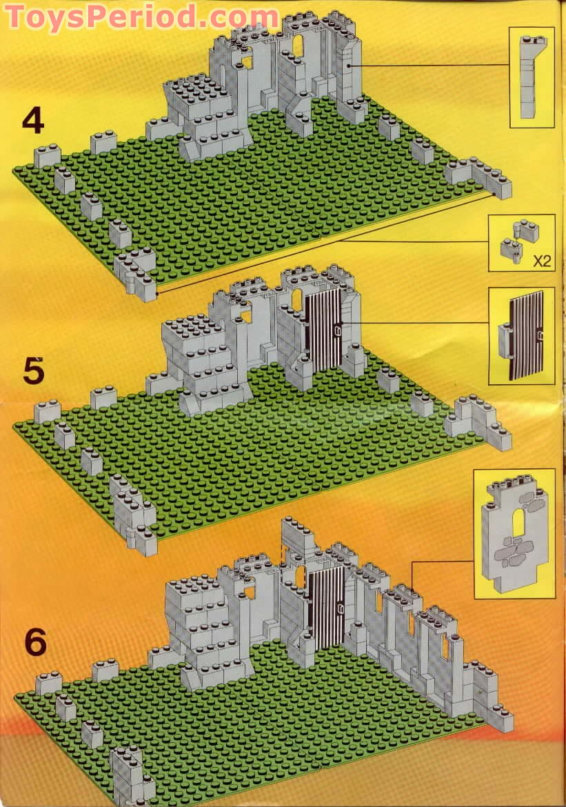 Lego 6080 Kings Castle Set Parts Inventory And Instructions Lego