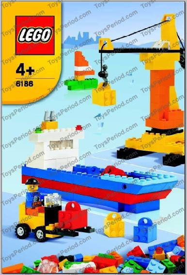 LEGO 6186 Build Your Own LEGO Harbor Set Parts Inventory and ...