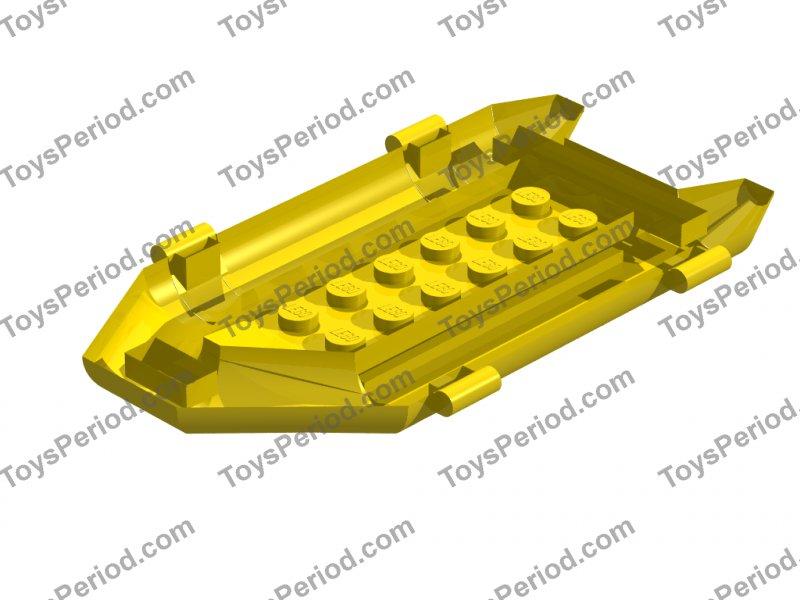 Lego Lot of 2 Dark Bluish Gray Boat Rubber Raft Dingy Small 7625 7046 7239