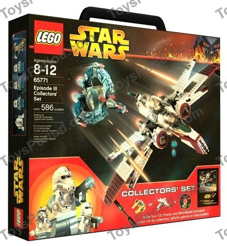 Lego 65771 episode iii collectors 39 set set parts inventory - Lego star wars 1 2 3 4 5 6 ...