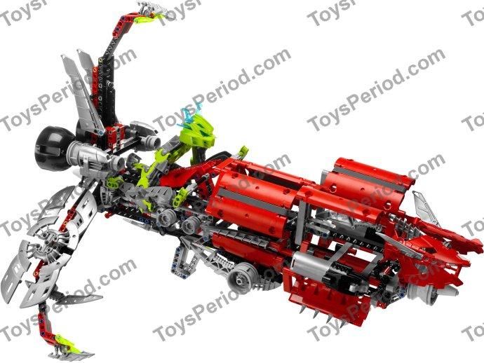 Lego 8943 Axalara T9 Set Parts Inventory And Instructions Lego