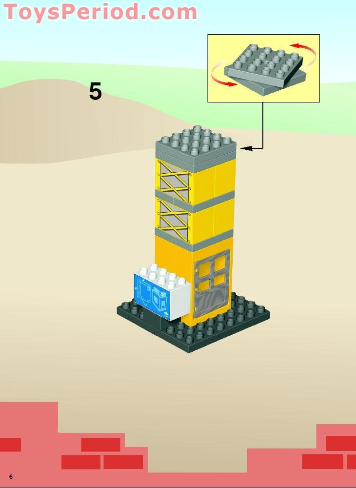 lego duplo construction set instructions