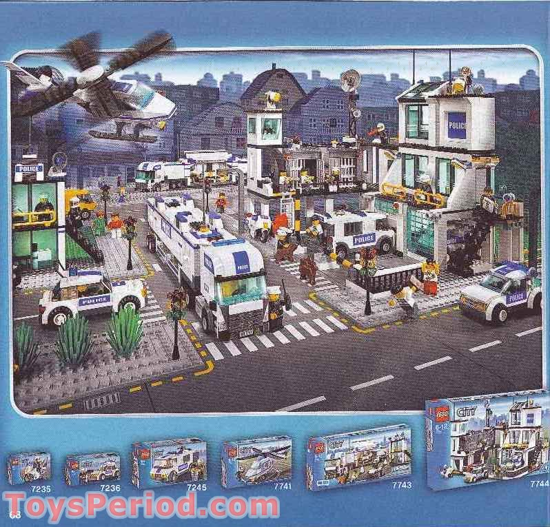 lego city 60022 instructions