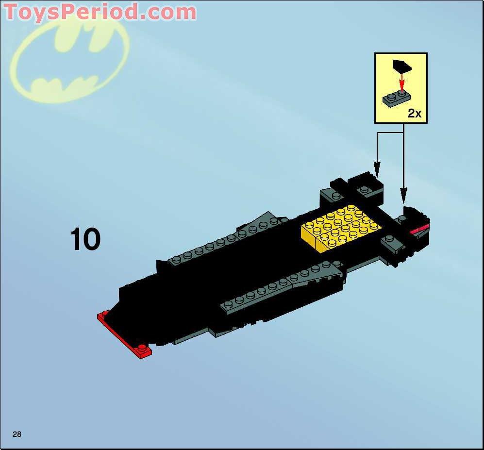 how to build a lego batmobile instructions