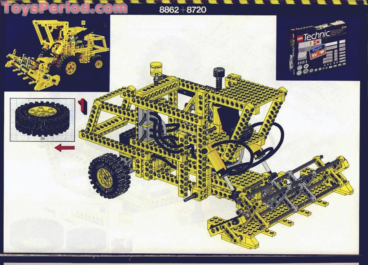 Missing Lego Brick 2719 OldGray x 2 Technic Plate 1 x 10 with Holes