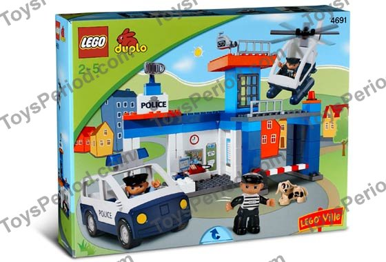 Lego 4691 Police Station Set Parts Inventory And Instructions Lego