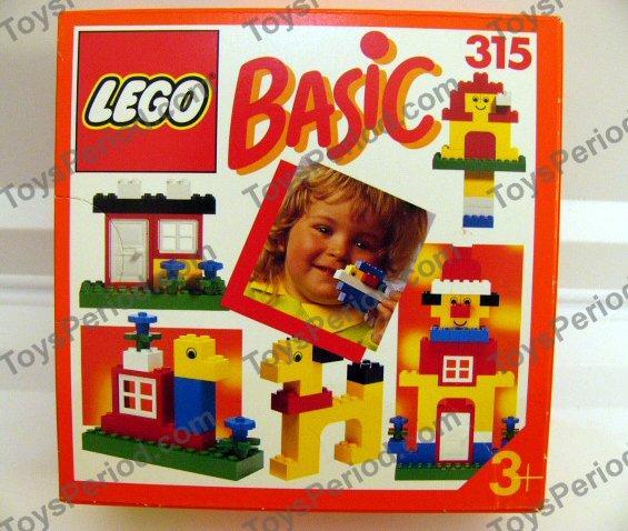 Lego 315 1 basic building set 3 plus set parts inventory - Plus belle construction lego ...