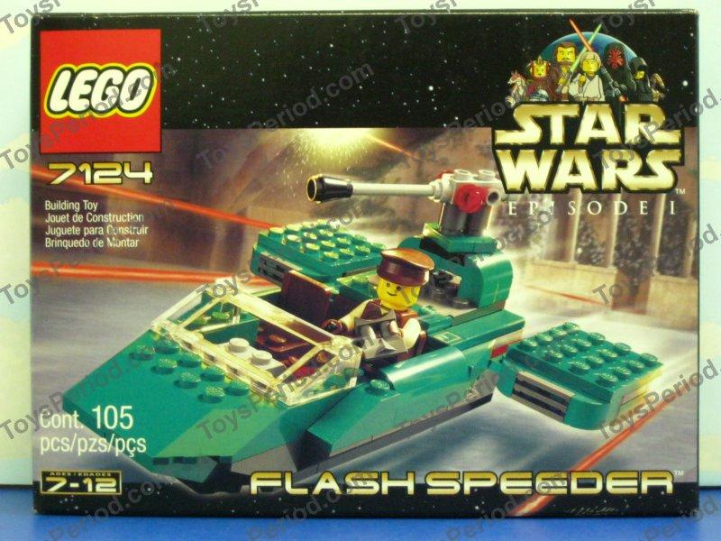 star wars sets - lego 7124 flash speeder vintage star wars episode