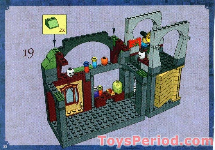 LEGO 4752 Professor Lupin's Classroom Set Parts Inventory and ...