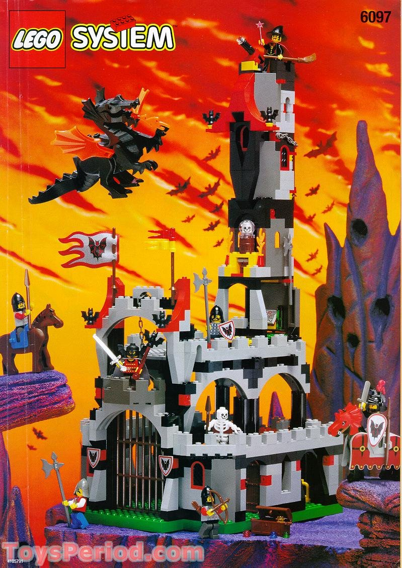 Lego 6097 Night Lord S Castle Set Parts Inventory And