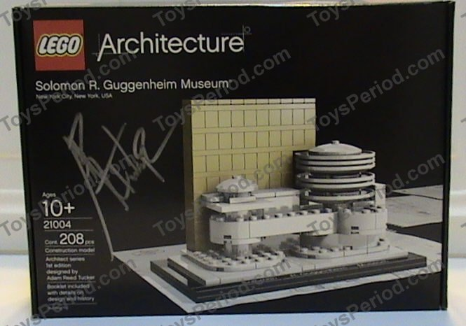 Lego 21004 solomon r guggenheim museum set parts inventory and