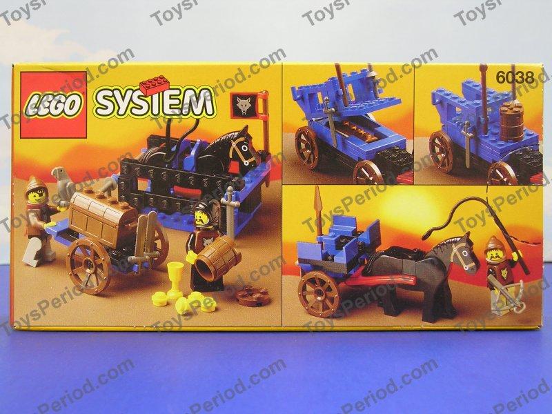 LEGO 6038 Wolfpack Renegades Vintage Castle MISB New Set ...