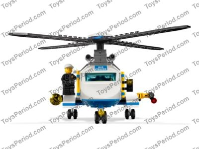 Lego 3658 Police Helicopter Set Parts Inventory And Instructions