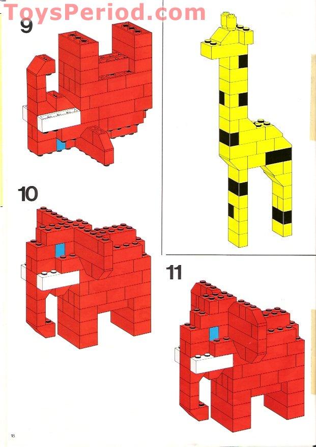 Lego 550 1 Basic Building Set Set Parts Inventory And