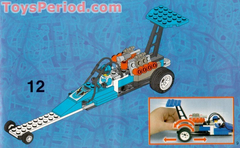 How To Build Lego Dragster