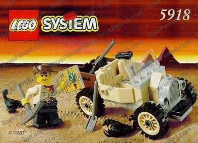 Lego 5918 Scorpion Tracker Set Parts Inventory And