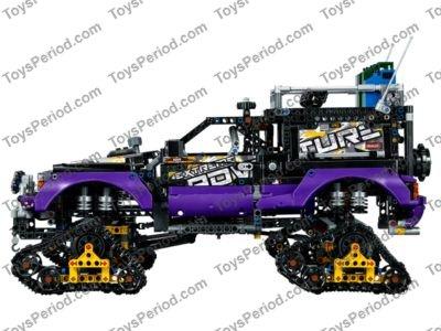 LEGO Technic PURPLE Liftarm 1 x 11.5 Double Bent Thick Beam 32009