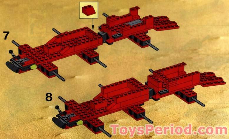 LEGO 6989 Mega Core Magnetizer Set Parts Inventory and