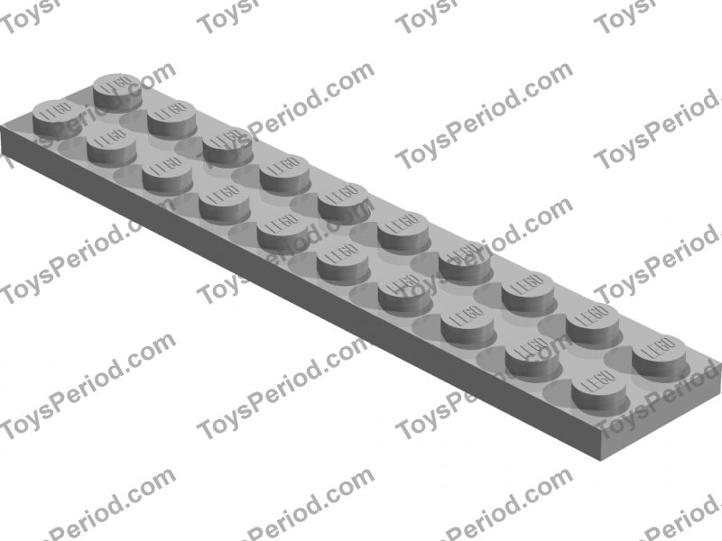 LEGO® 2 x 3832 Platte 2 x 10 rot 383221 Creator City N70