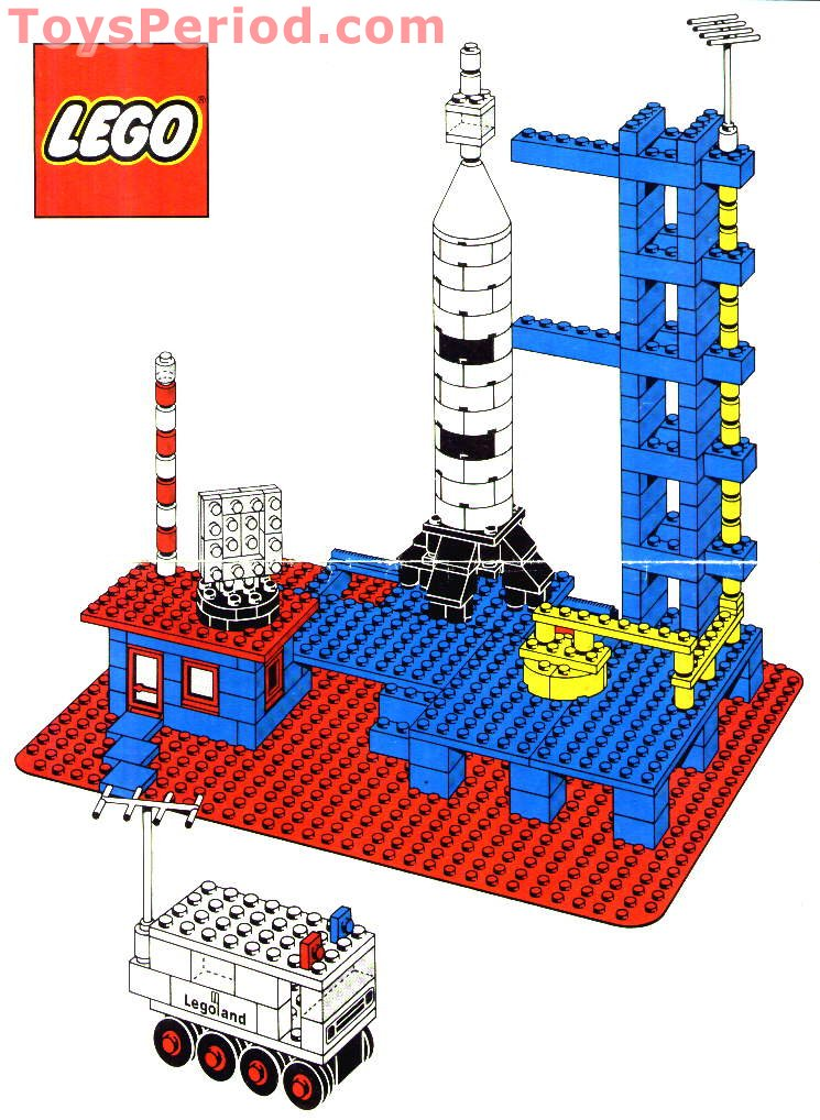 Lego 358 Rocket Base Set Parts Inventory And Instructions Lego