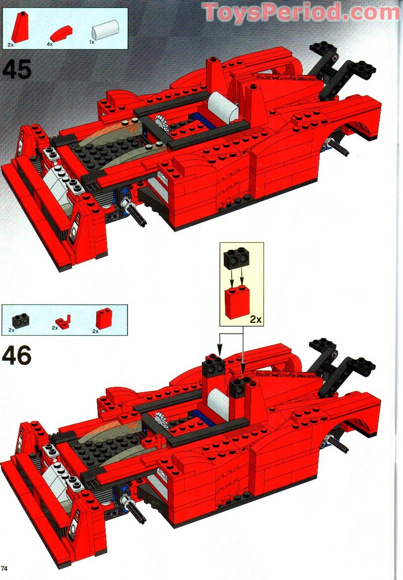 how to build a lego ferrari