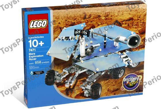 Lego 7471 Mars Exploration Rover Set Parts Inventory And