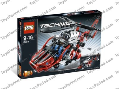 Technic: lego rescue helicopter instructions 8068, technic.