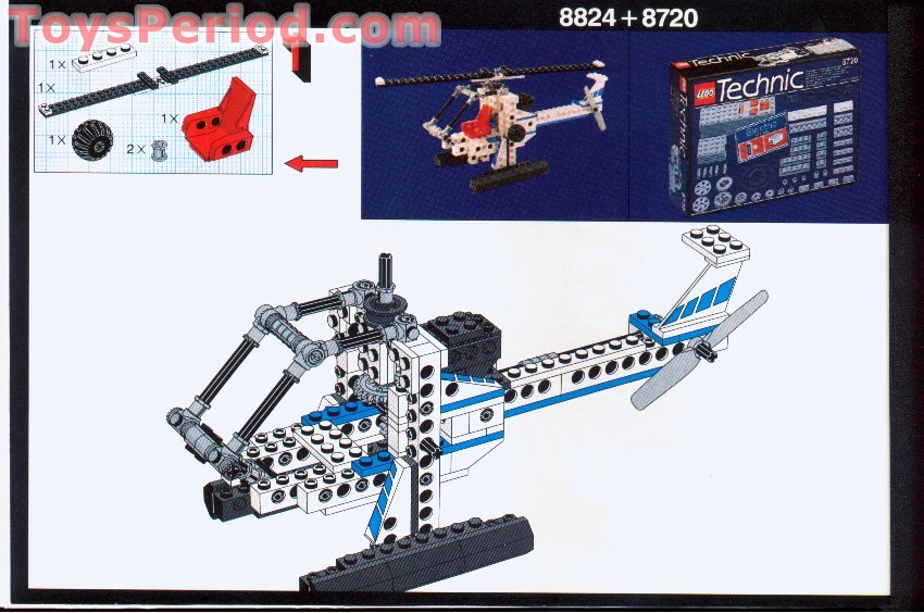 Lego 8824 Hovercraft Set Parts Inventory And Instructions Lego