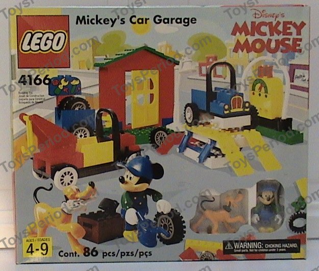 LEGO 4166 Mickey's Car Garage Image 3