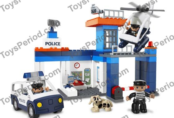 lego duplo police station 4691 instructions