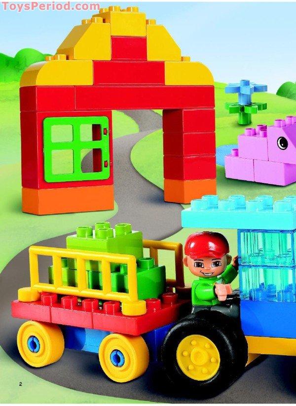 Lego 5488 Duplo Farm Building Set Set Parts Inventory And