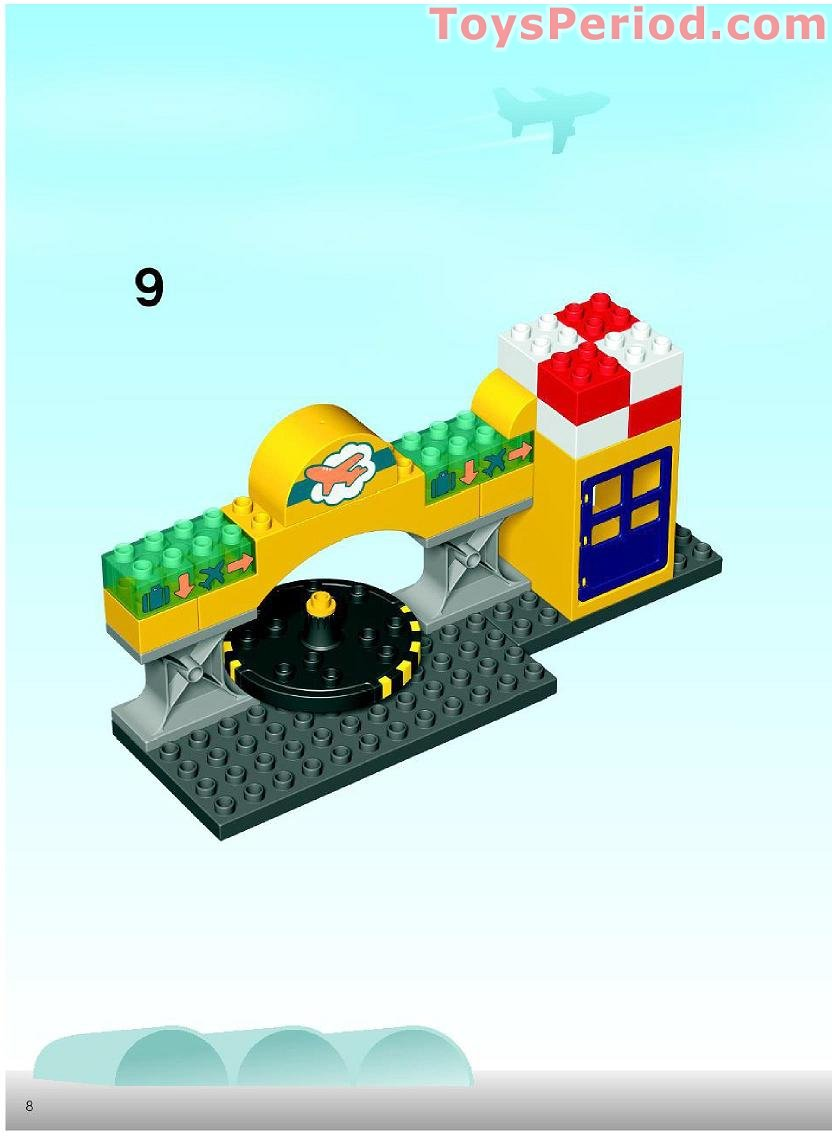lego airport set instructions