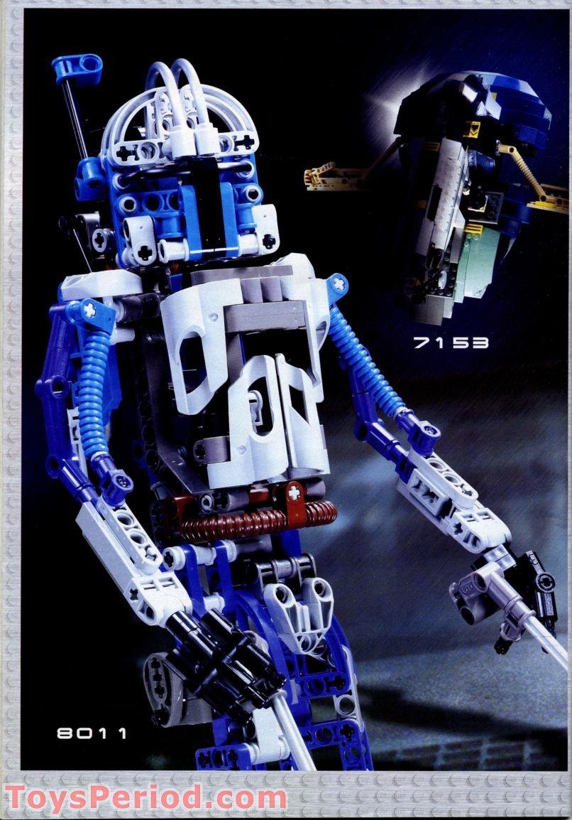 Lego 8012 Super Battle Droid Set Parts Inventory And