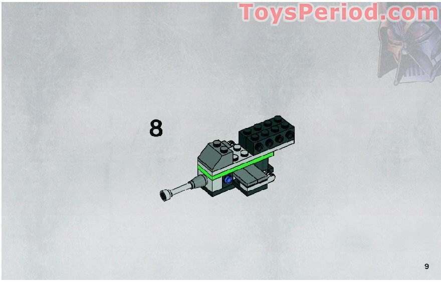 Lego 8014 Clone Walker Battle Pack Set Parts Inventory And