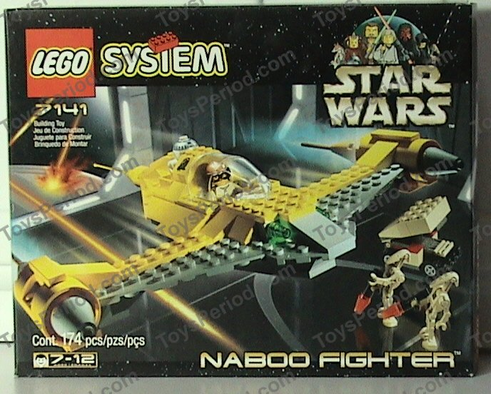 for naboo fighter 7141 Piece LEGO STAR WARS ref 30360