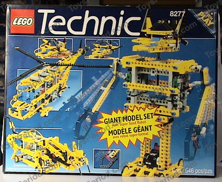 LEGO 8277 Giant Model Set Set Parts Inventory and Instructions ...