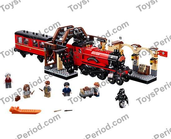 Lego 75955 Hogwarts Express HARRY POTTER blue coat short legs w// wand minifigure