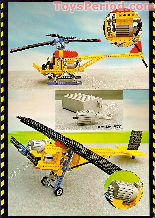 Lego 954 Helicopter Set Parts Inventory And Instructions Lego