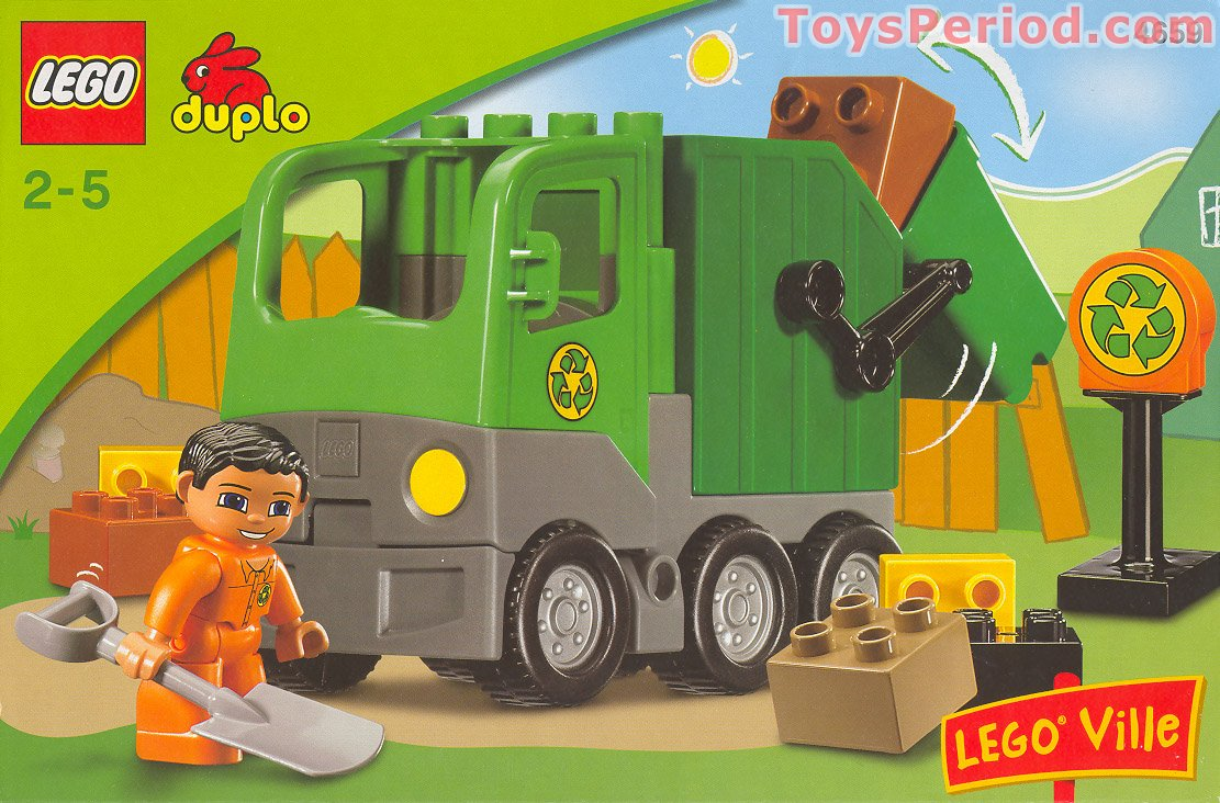 Lego 4659 Garbage Truck Set Parts Inventory And