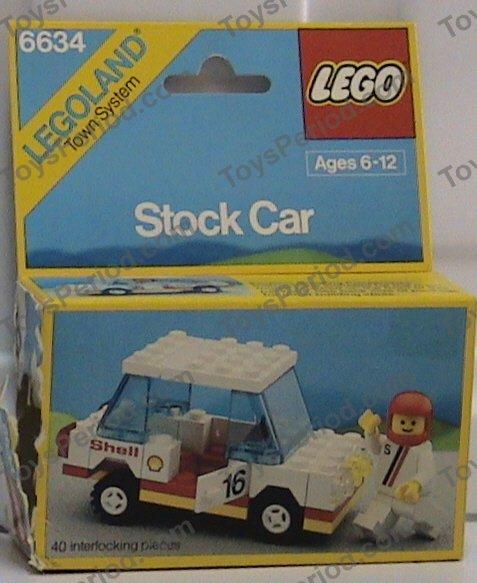 LEGO 6634 Stock Car Image 2