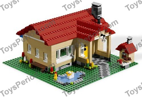 LEGO 6754 Family Home Set Parts Inventory and Instructions - LEGO ...