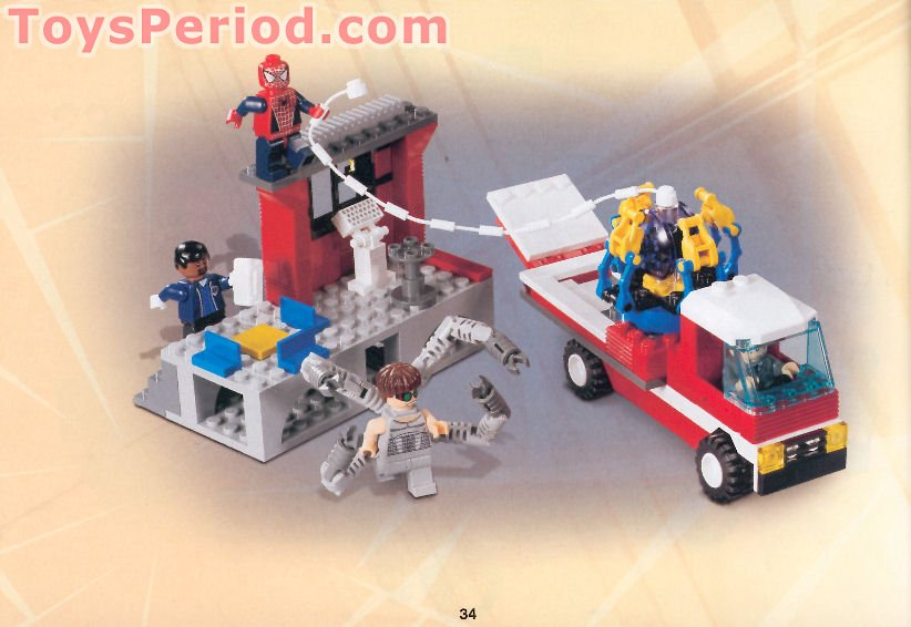 JACKET WITH EMT STAR OF LIFE LOGO LEGO-MINIFIGURES X 1 TORSO FOR SPIDER MAN