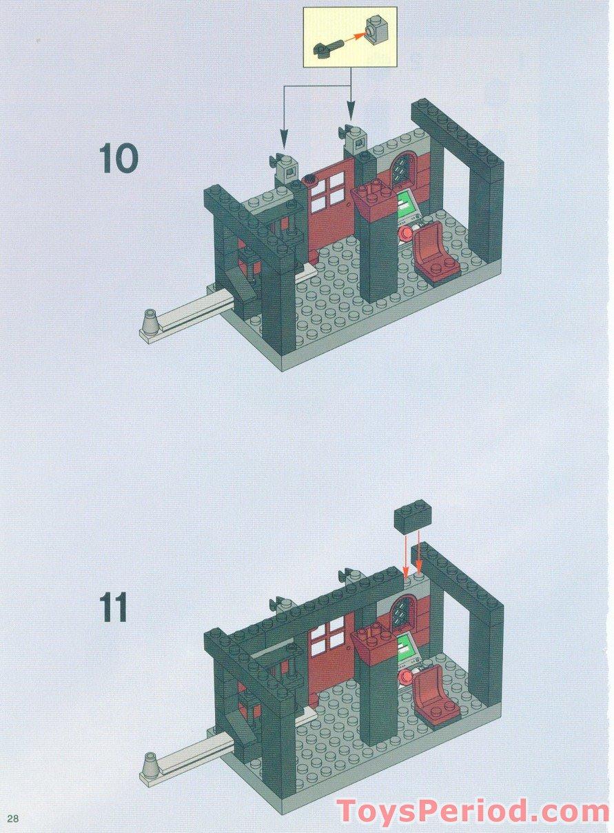lego arkham asylum instructions