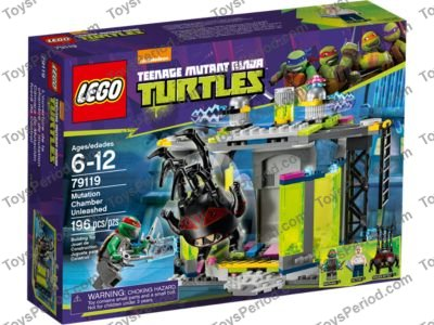 Lego 79119 Mutation Chamber Unleashed Set Parts Inventory And