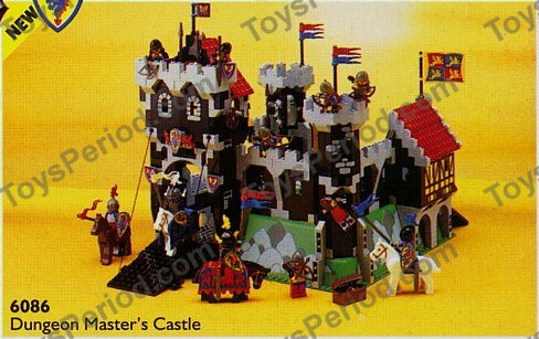 Lego 6086 Black Knight S Castle Set Parts Inventory And
