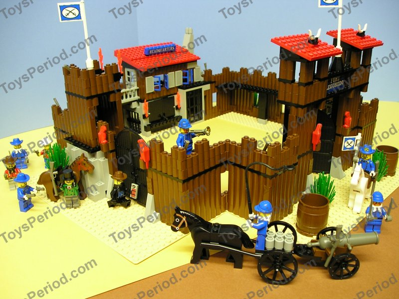 Wild West Fort Legoredo Outpost - LEGO Historic Themes ... |Lego Wild West Fort