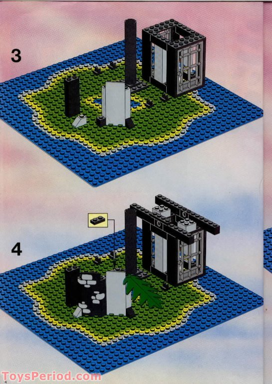 lego pirate island instructions